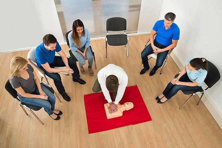 Erste Hilfe Kurs - Gruppe