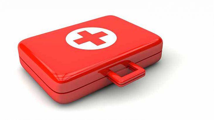 Rotes Kreuz Ärztekoffer